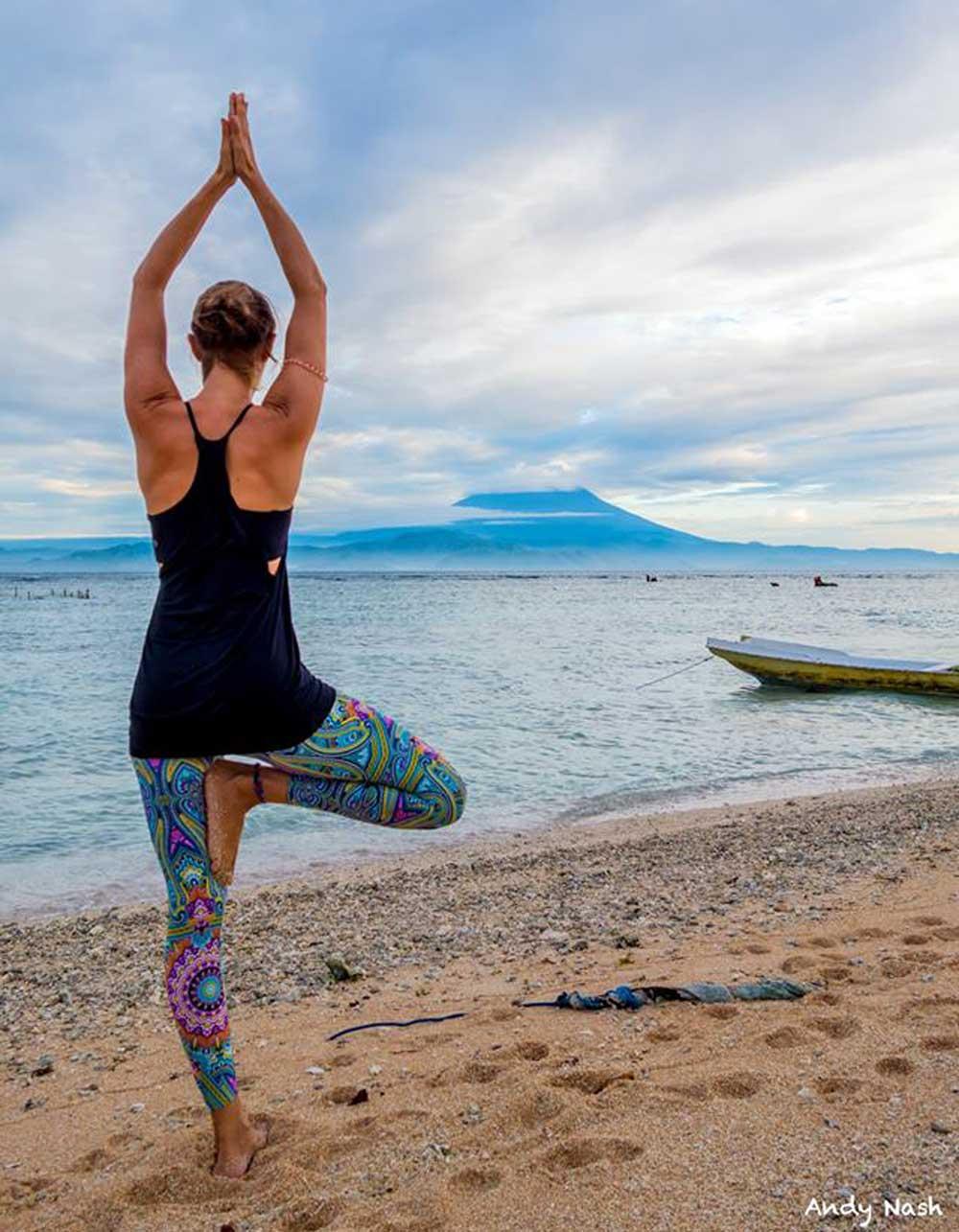 Caroline Layzell Yoga teacher