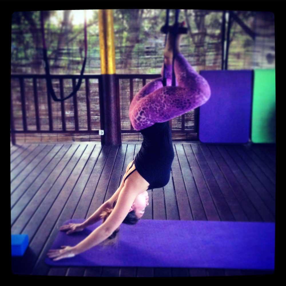 Fly High Yoga pose