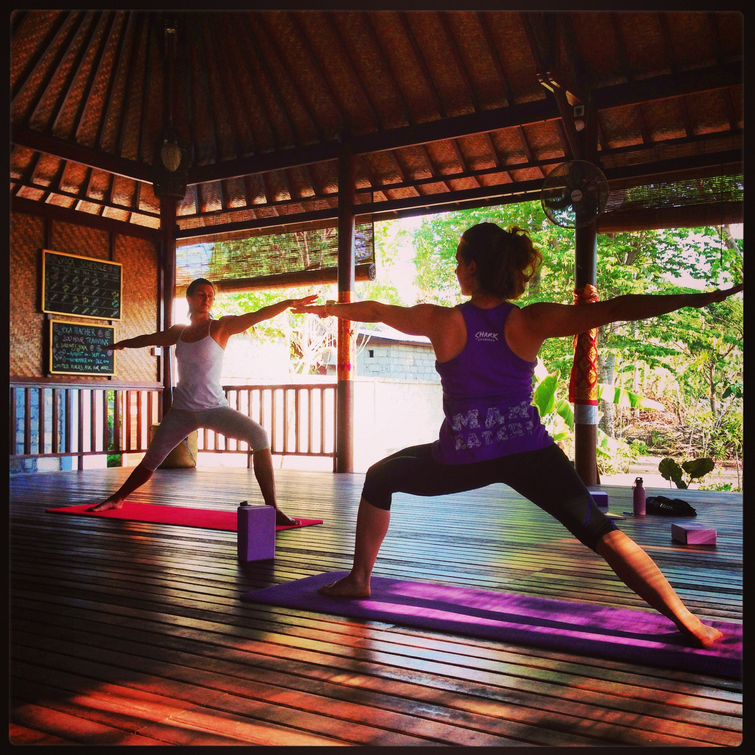 A Yoga retreat at Serenity Yoga Lembongan