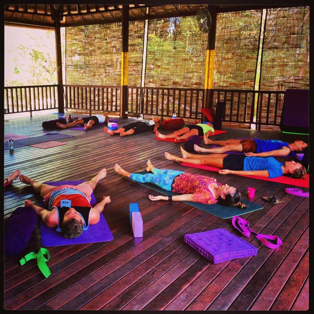 Yoga Class at Serenity